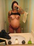 amateur photo Tattooed and pregnant