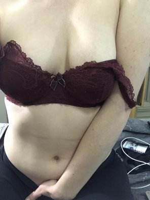 amateur photo Original ContentOops. My hands in my panties again!! [f]