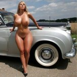amateur photo Perfect body lines...oh and a Rolls Royce