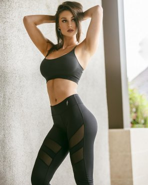amateur photo New workout outfit