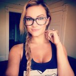 amateur photo Braided blonde