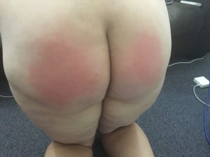 amateur photo really taken to getting spanked hard recently