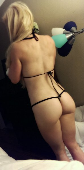 amateur photo I give this G-string an A