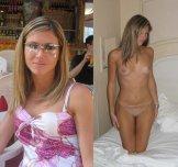 Like her glasses