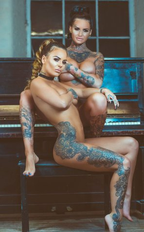 amateur photo Jemma Lucy and Chantelle Connelly