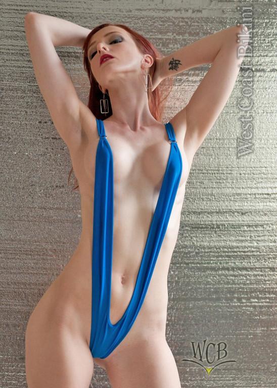 Sling bikini tubes