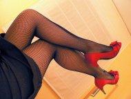 Fishnet legs