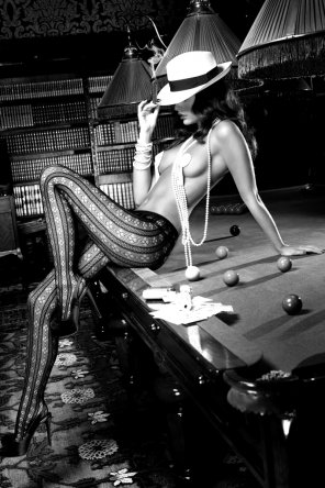amateur photo Pool player