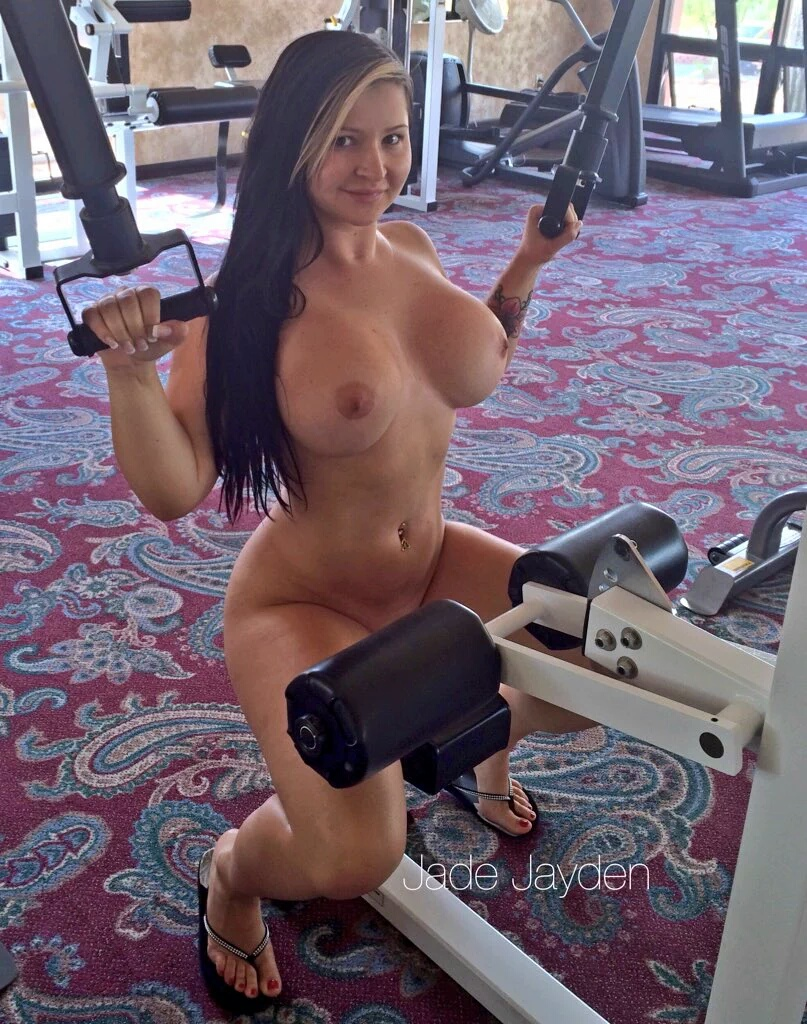 working out porn