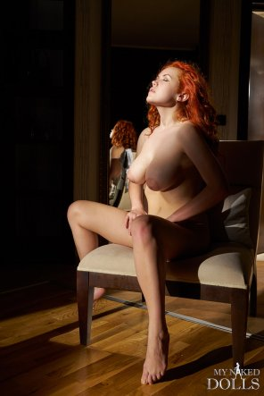amateur photo Nympho princess, redhead Lillith von Titz