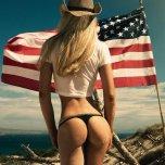 amateur photo Respect the flag
