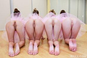 amateur photo Ballerinas