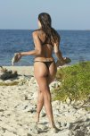 amateur photo Dayane Mello at the beach