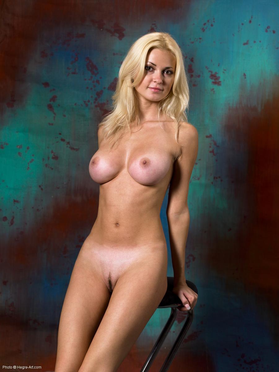 nudes line Busty tan