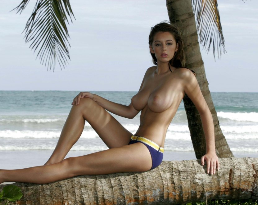 Keeley Hazell at the age of 18.....Jesus Porn Photo