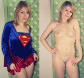 Supergirl costume On/Off