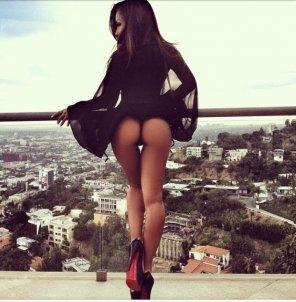 amateur photo Gap with a view