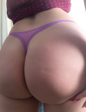 amateur photo Purple panties