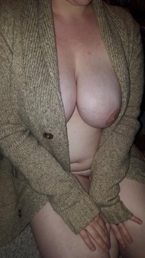 amateur photo [Image] I love wearing his sweater