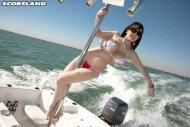 She likes motorboating