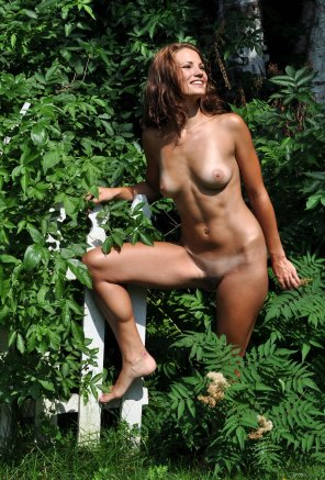 amateur photo Tanlines in the Woods