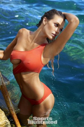 amateur photo Swimwear model