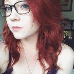 amateur photo Beautiful redhead