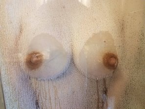 amateur photo In the shower!
