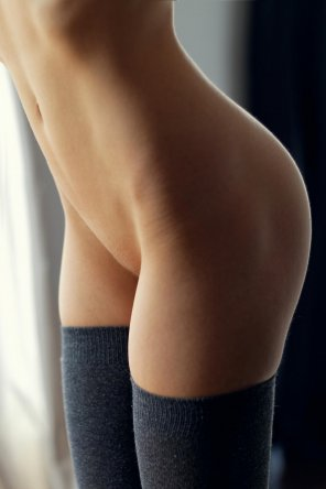 amateur photo Warm stockings