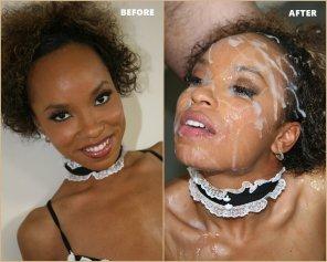 amateur photo Aja Cummings - Cumbang - Before & After