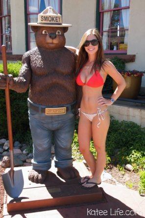 amateur photo Smokey the Bear