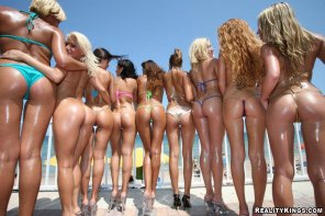 amateur photo Display of Asses