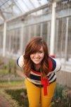 amateur photo Beautiful ginger