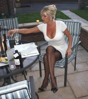amateur photo Blonde milf