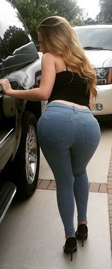 amateur photo Sexy ass in jeans