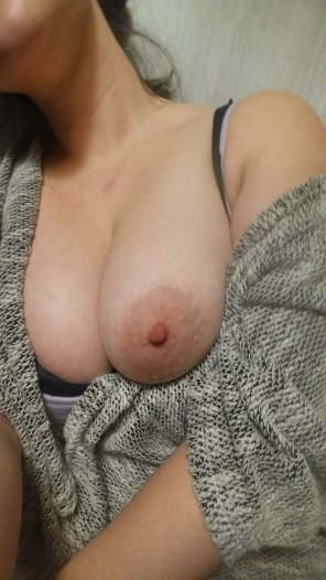 amateur photo My wife Kori has such nice tits
