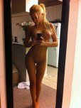 amateur photo Perfect blonde selfie