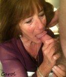 amateur photo Shove your cock down Mamas throat.