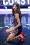 amateur photo Alessandra Ambrosio in a Spanish tv show