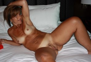amateur photo Tanlined cutie with awesome nips!