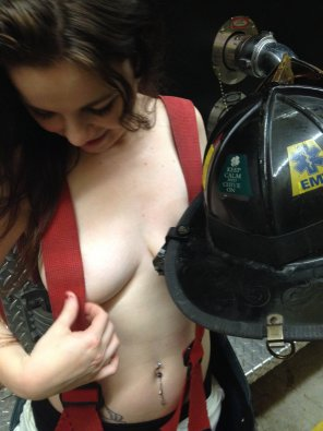 amateur photo At the Fire House