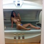 amateur photo Join me in the tanning bed?