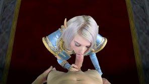 "amateur photo Arya Fae as Jodi Newbury ""The Shadow Priest"" [Warcraft]"