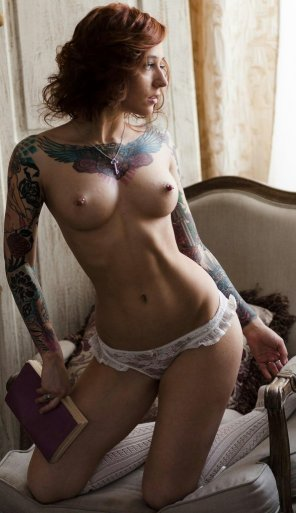 amateur photo Beautiful tattoos
