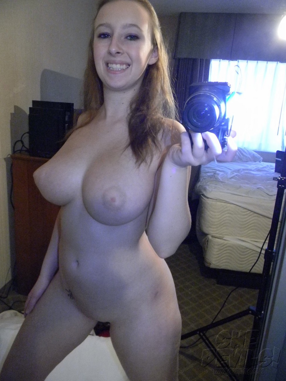 Big Natural Tits Teen Handjob
