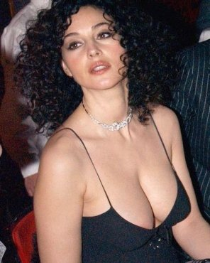 amateur photo Monica Bellucci