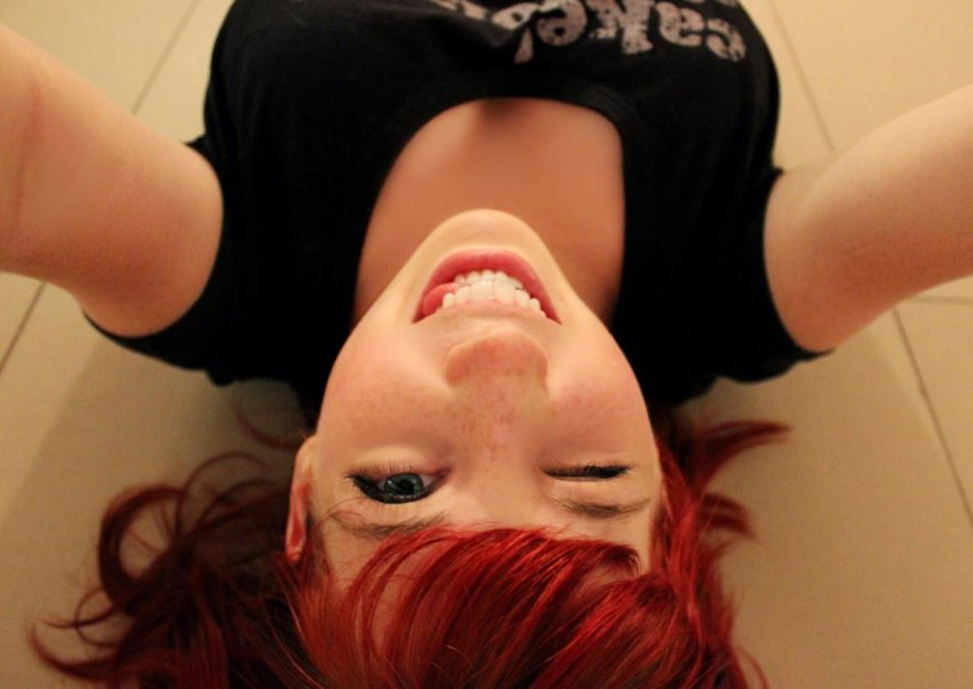 Australian Redhead Porn Photo