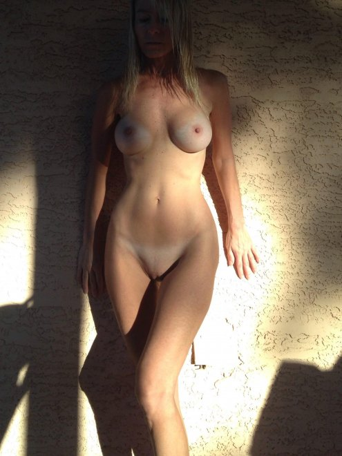 Subtle tanlines on this pretty blonde... Porn Photo