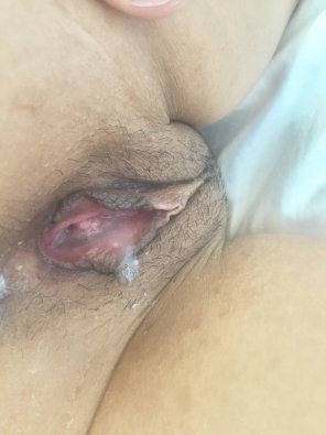 amateur photo Christmas Creampie. Wife wanted to share as a holiday gift