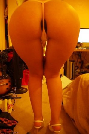 amateur photo All in dildo with string
